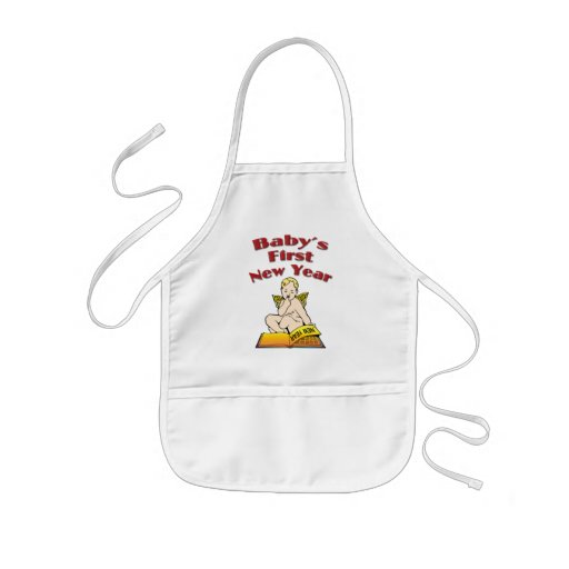 Baby's First New Year Apron