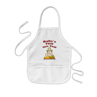 Baby's First New Year Kids Apron