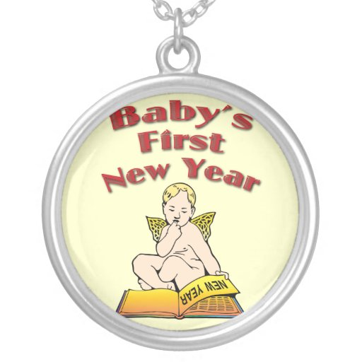 Baby's First New Year Necklaces