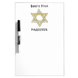 Baby's First Passover Dry Erase Whiteboard