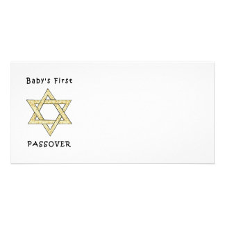 Baby's First Passover Photo Card Template