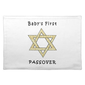 Baby's First Passover Placemats