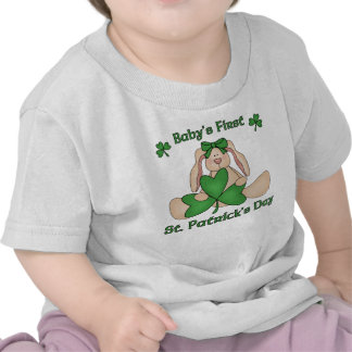 Baby's First St. Patrick's Day T-shirt