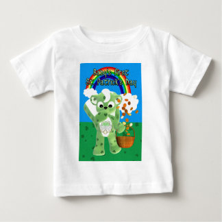Baby's First St. Patrick's Day , with litte cu Baby T-Shirt