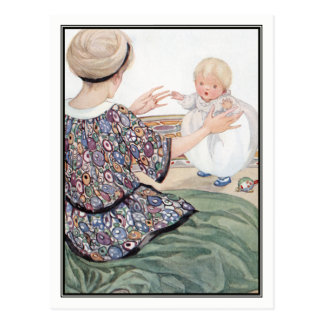 Baby's First Step by Anne Anderson Postcard