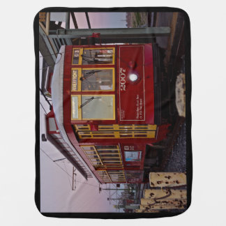 Baby's First Streetcar Baby Blanket