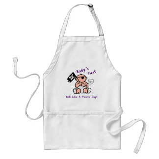 Baby's first talk like a pirate day standard apron