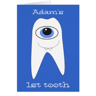 Baby's First Tooth Cards