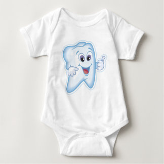 Baby's first toothy! t-shirts