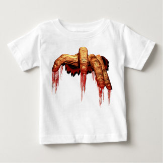 Baby's Halloween T-Shirt Gory Zombie Baby Shirts
