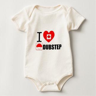Babys Love Dubstep2 Bodysuit