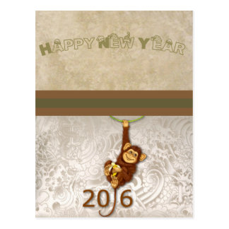 Baby's : my first new year day - postcard