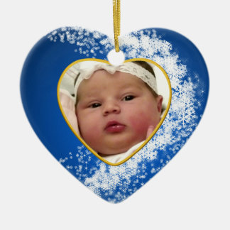 Baby's Photo Keepsake Christmas Ornament