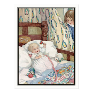 Baby's Playmate by Anne Anderson Postcard