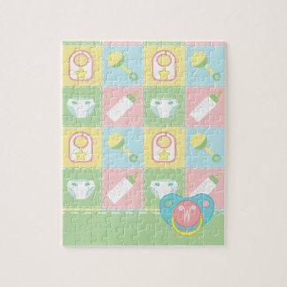 Baby's Quilt Puzzle