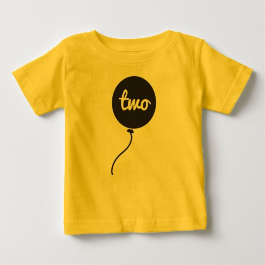 Baby's Second Birthday Shirt