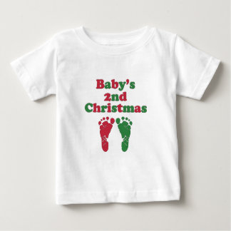 Baby's Second Christmas Baby T-Shirt