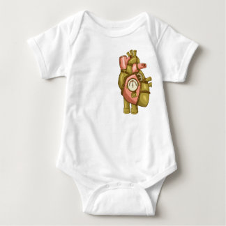 Baby's Steampunk at Heart Baby Bodysuit