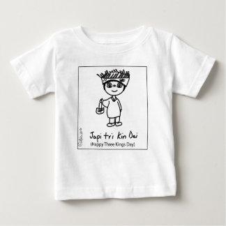 Baby's T-shirt Happy Three Kings Day