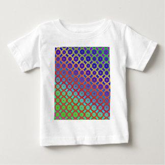 Babys T-Shirt - Rainbow Mandala Fractal Pattern