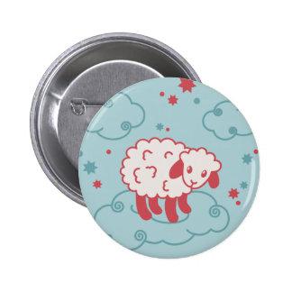 babysheep 6 cm round badge