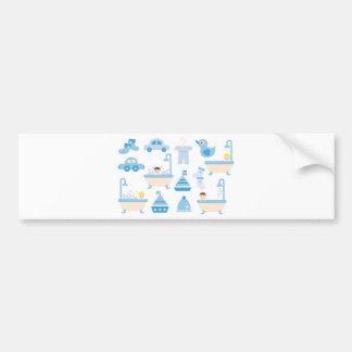 BabyShower2 Bumper Sticker
