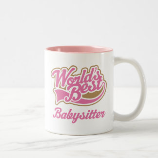 Babysitter Gift Two-Tone Coffee Mug