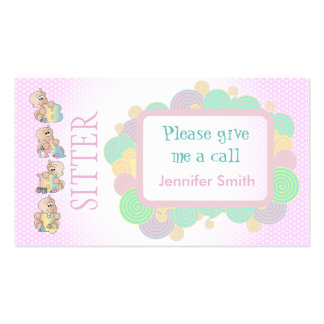 Babysitter Services Pack Of Standard Business Cards