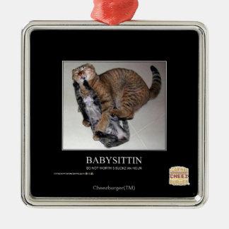 Babysittin Christmas Ornament