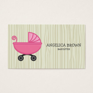 Babysitting Business Card