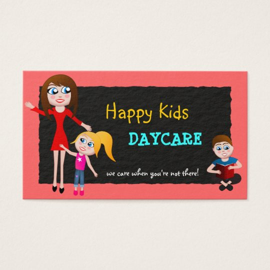 Babysitting  Child Care Day Care Business Cards