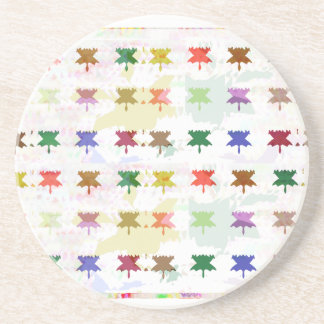 Babysoft Butterfly Patterns for Adults Beverage Coaster