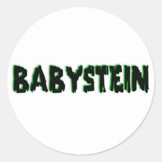 Babystein Item Round Sticker