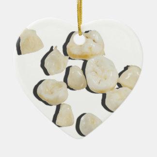 BabyTeeth033113.png Ceramic Heart Decoration