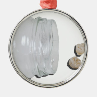 BabyTeethJar033113.png Silver-Colored Round Decoration
