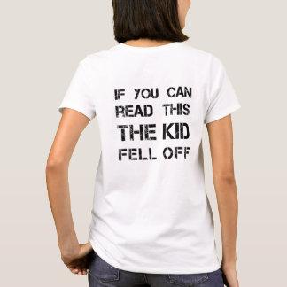 Babywearing Gag Shirt for backwearing