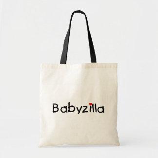 Babyzilla Budget Tote Bag