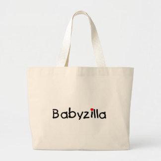Babyzilla Jumbo Tote Bag