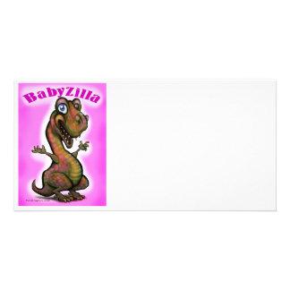 BabyZilla Photo Card