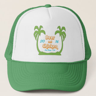 BAC Palms Trucker Hat