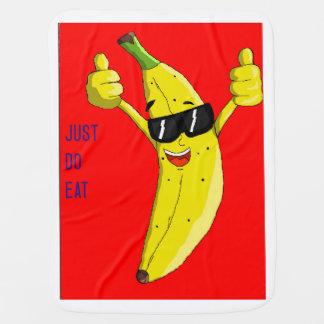 bacana banana baby blankets