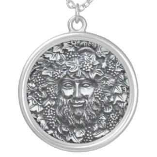 Bacchus 1 silver plated necklace