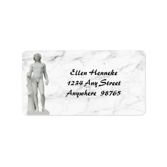 Bacchus 2 address label