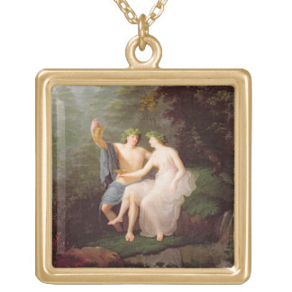 Bacchus and Ariadne Gold Plated Necklace