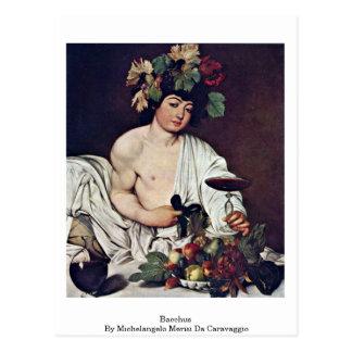 Bacchus By Michelangelo Merisi Da Caravaggio Post Cards