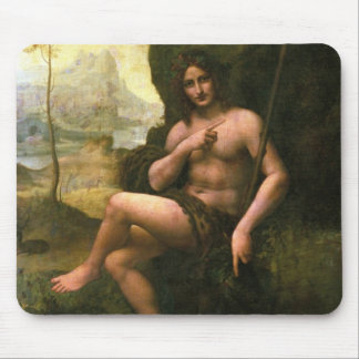 Bacchus, c.1695 (oil on canvas) mouse pad
