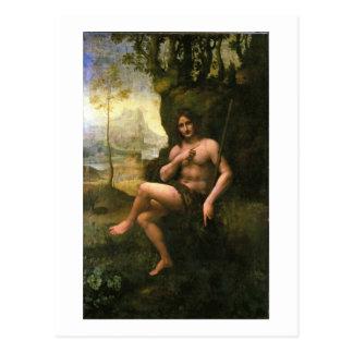Bacchus, c.1695 (oil on canvas) postcard