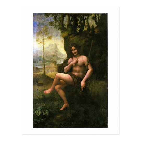 Bacchus, c.1695 (oil on canvas) postcard