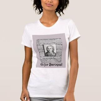 Bach Baroque Music T Shirt 1