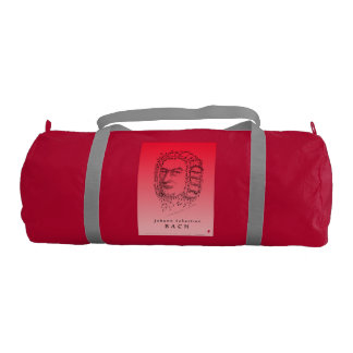 Bach & Beethoven Face the Music Gym Duffel Bag